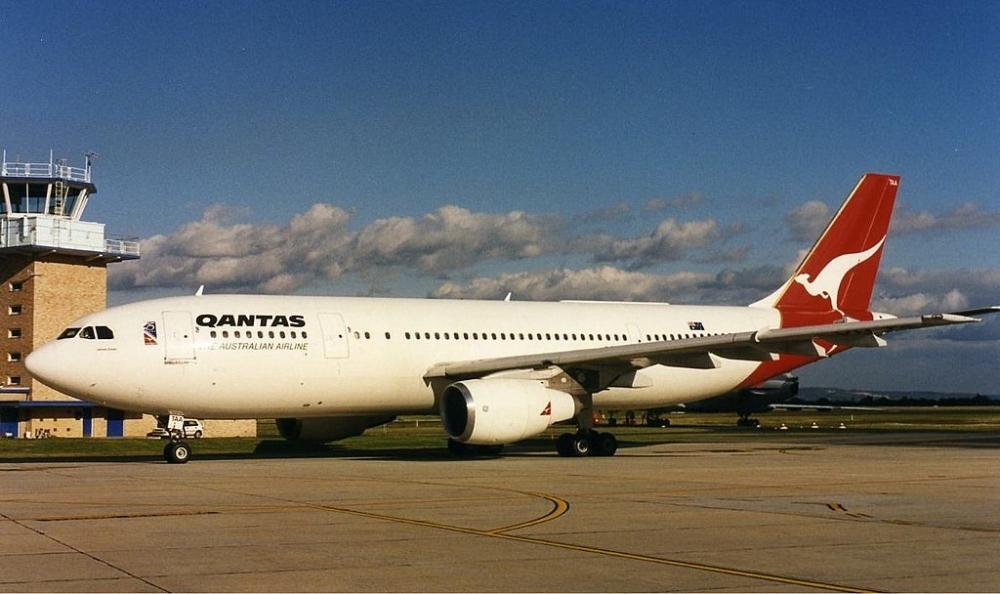 Qantas Airbus A300