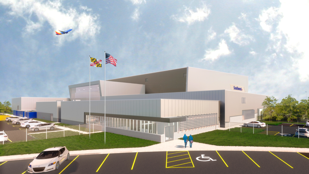 Southwest Airlines Set For Major New Maintenance Base In Baltimore