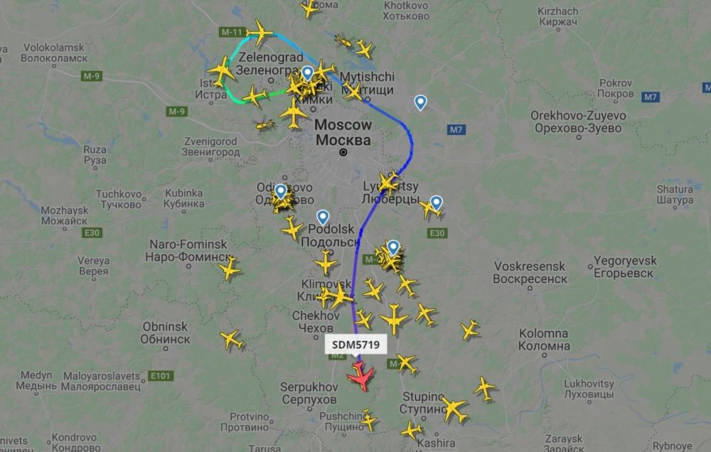 Rossiya B747-400