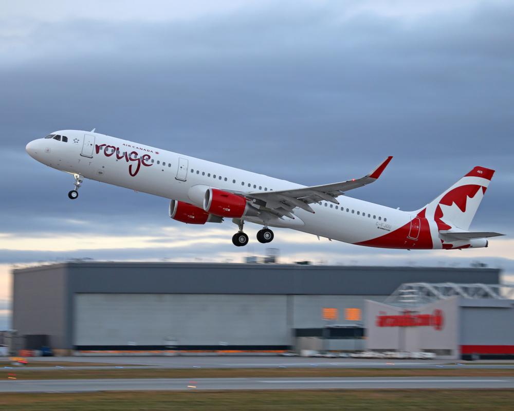 Air Canada Rouge A321
