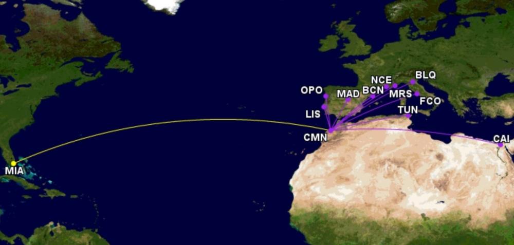 Royal Air Maroc Miami