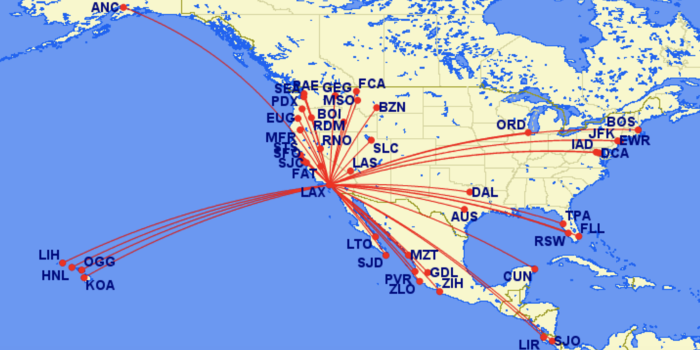 Alaska Airlines And Iberia File For Domestic US Codeshares