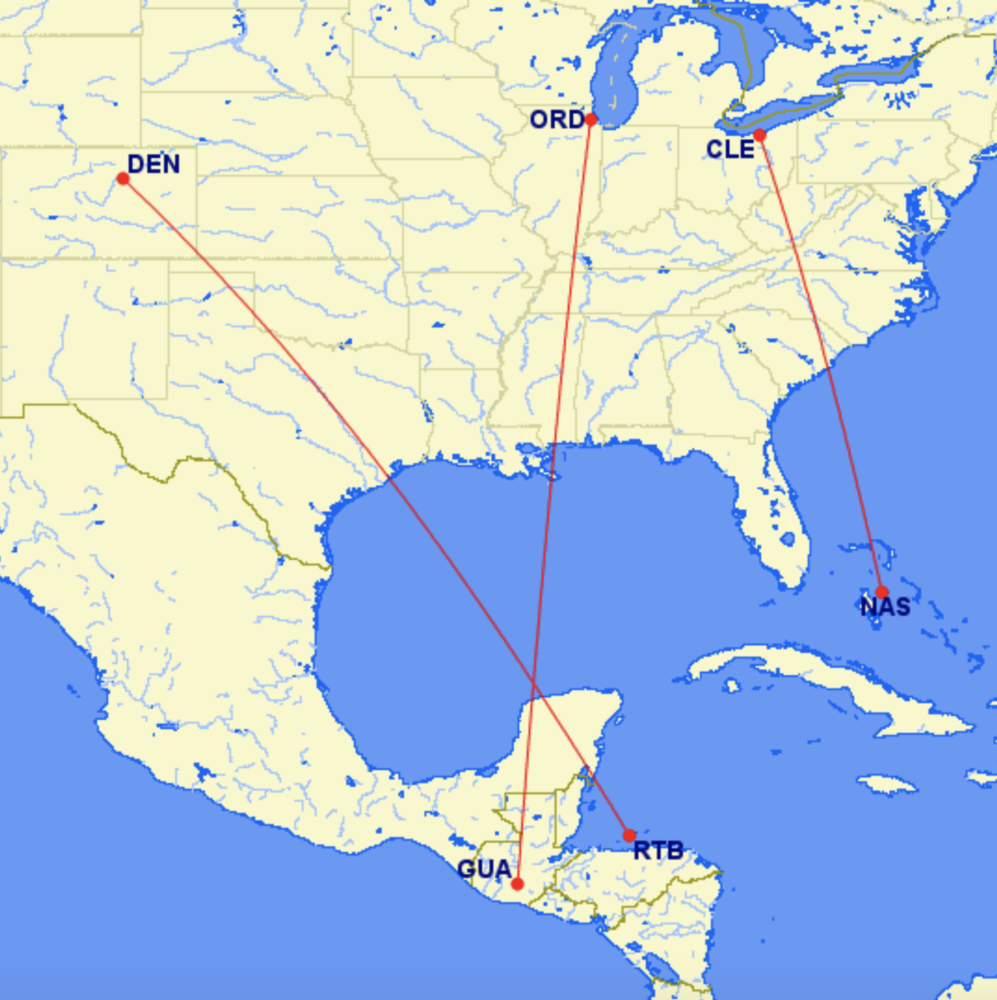United Airlines Adds Three New Short-Haul International Routes