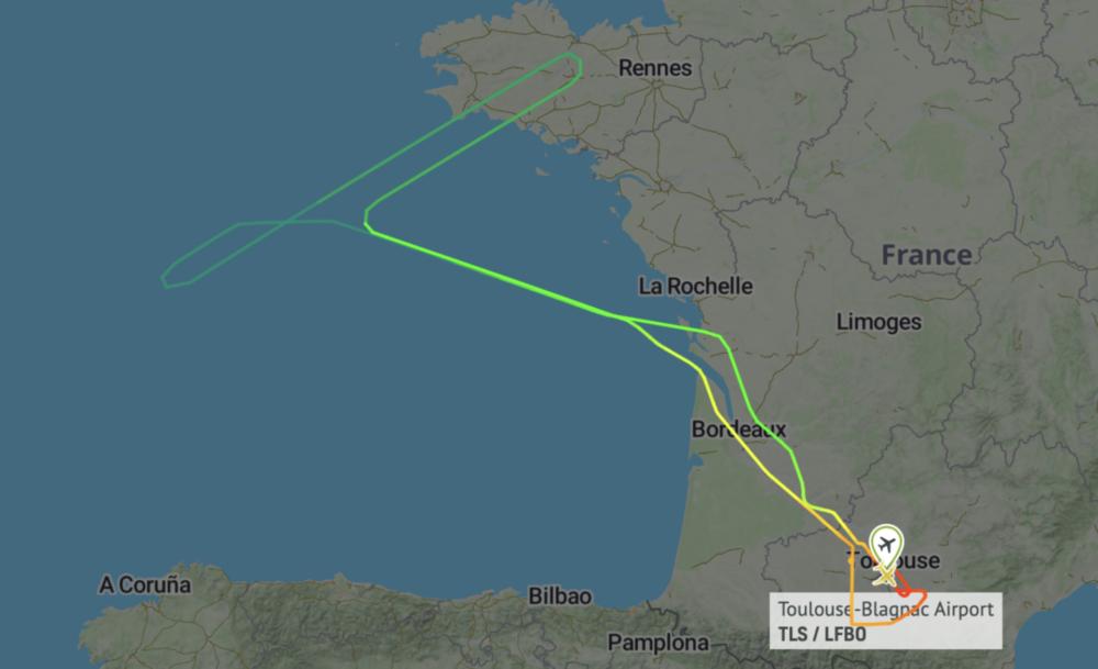 Cebu A330neo test flight