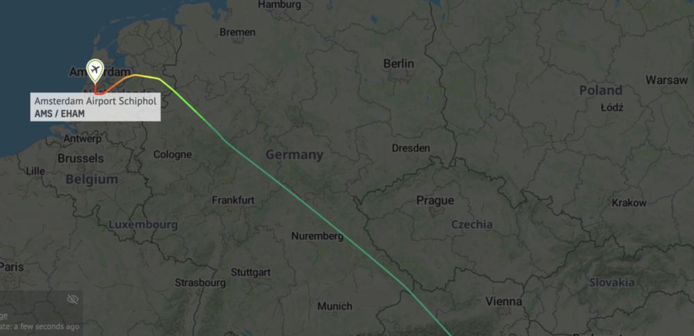 KQ118 flight