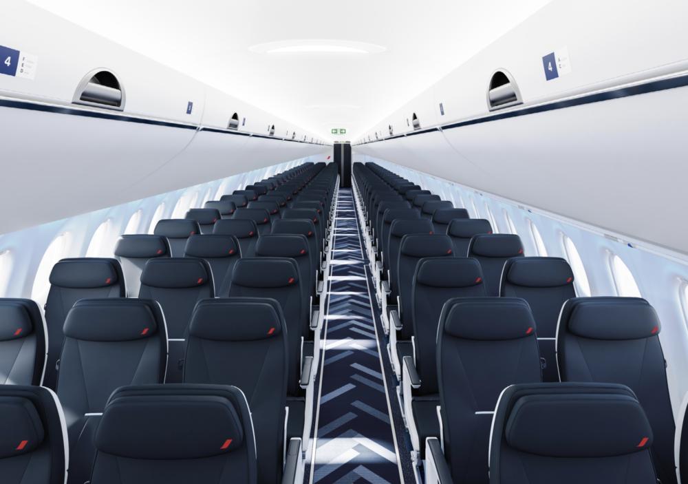 Air France A220 cabin