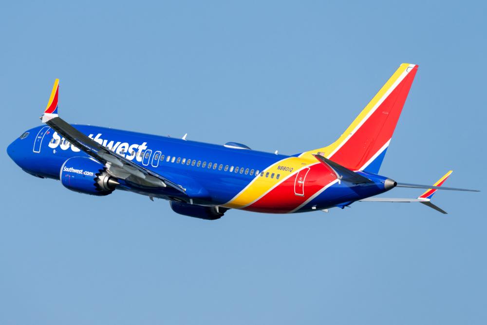 Southwest B737 MAX