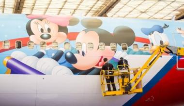 TAM Disney Boeing 767