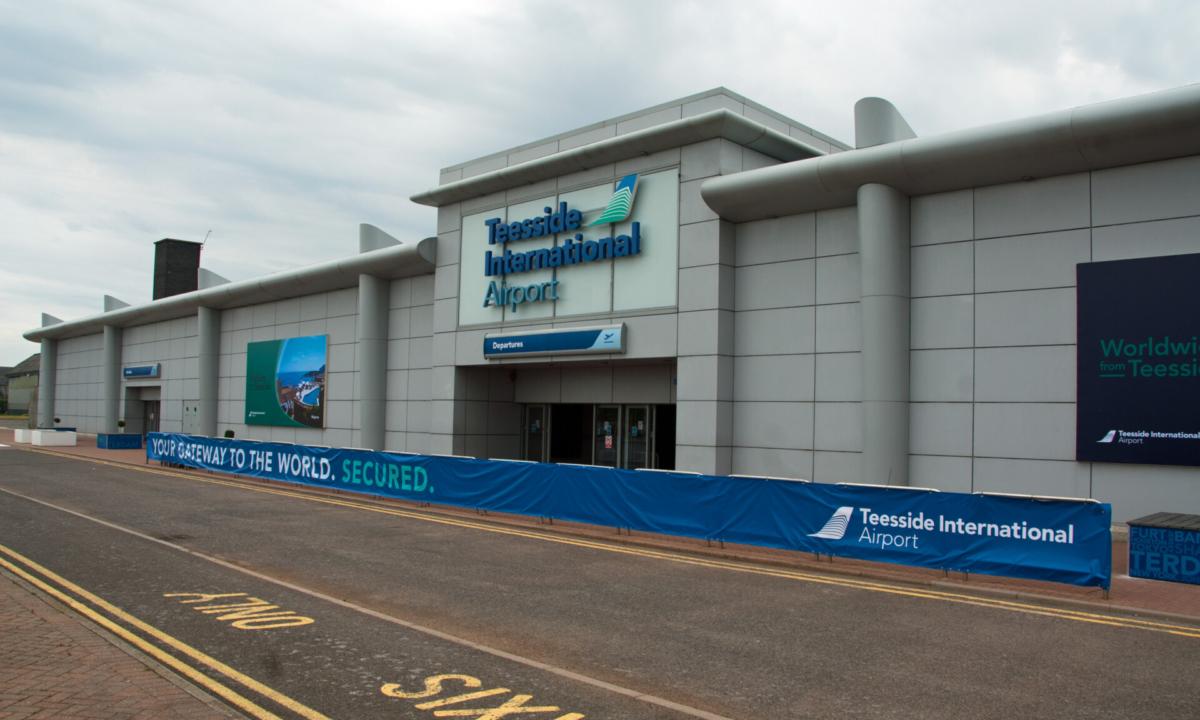 Teesside International Airport (MME