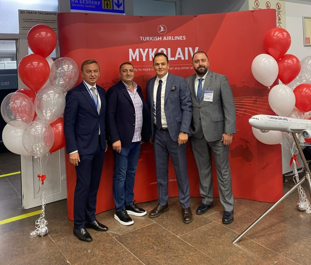 Turkish Airlines to Mykolaiv
