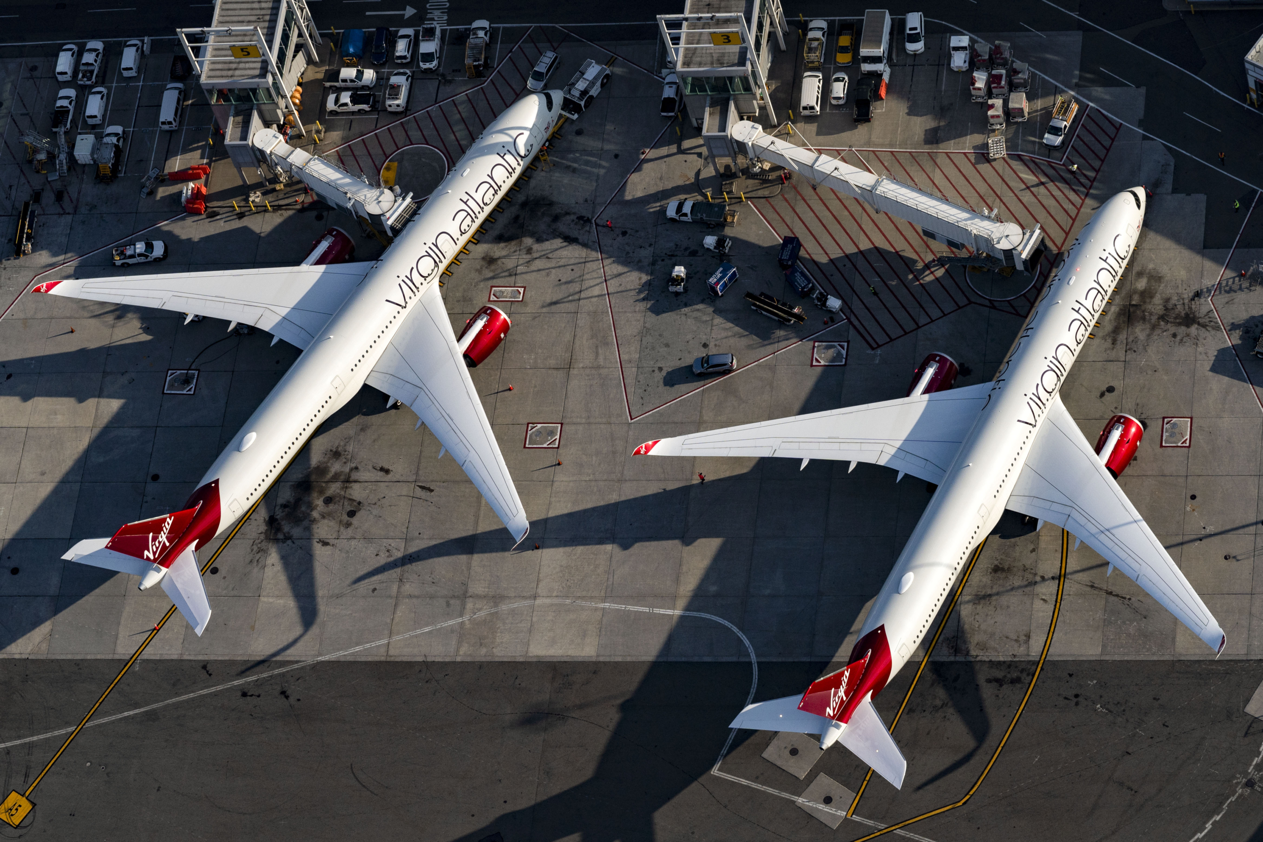Virgin Atlantic, Airbus A350, The Booth