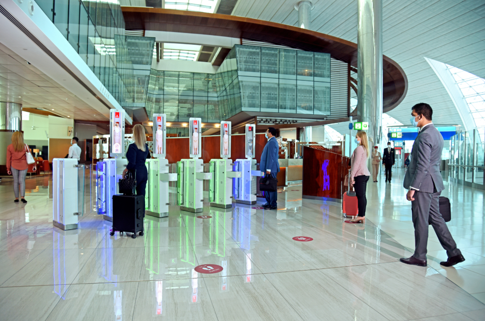 Emirates biometric Dubai