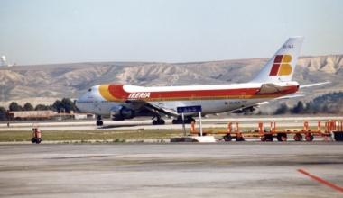 Iberia Boeing 747