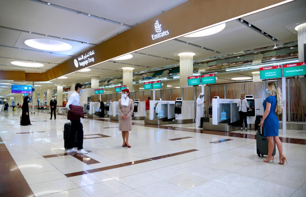 Emirates bag drop