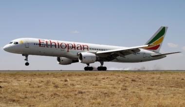 Ethiopian Airlines Boeing 757