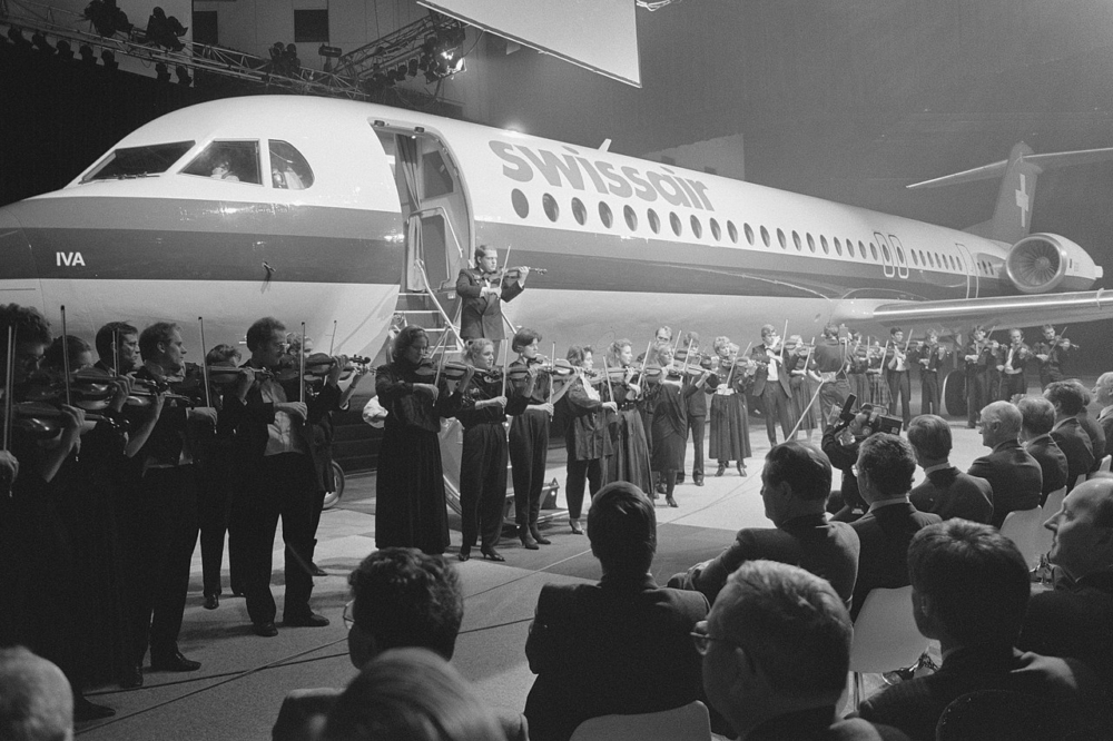 Swissair Fokker 100