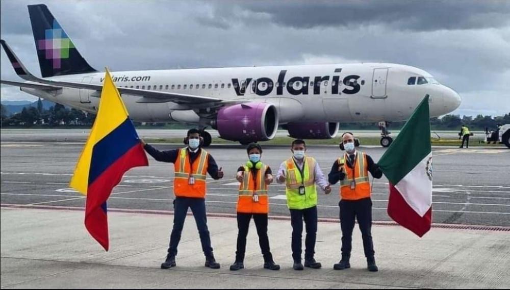 Volaris to Bogota
