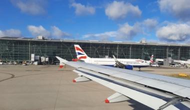 British Airways A320 Heathrow