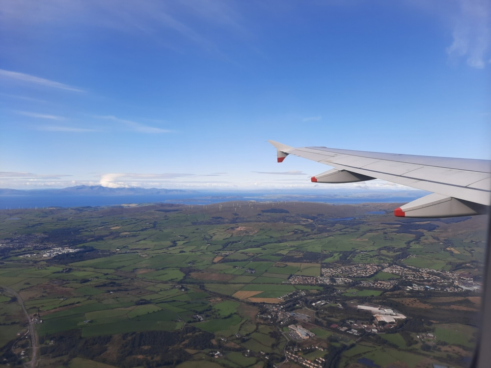 Glasgow Airport Approach