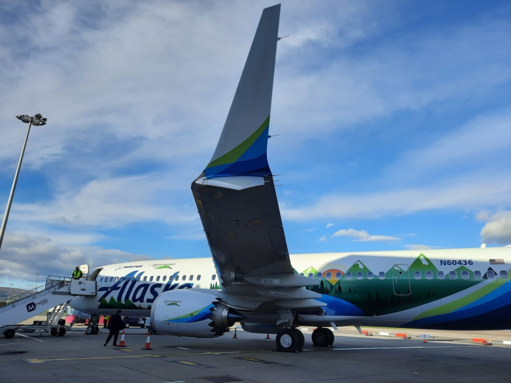 Boeing Alaska ecoDemonstrator