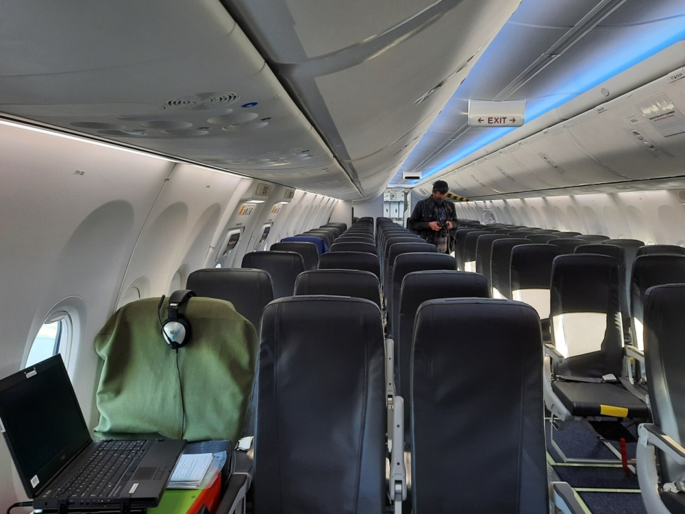 Alaska Boeing ecoDemonstrator