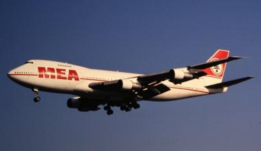 MEA Boeing 747