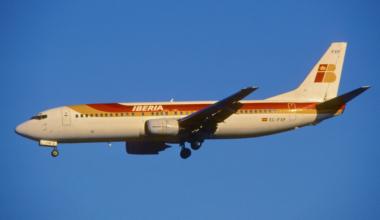 Iberia Boeing 737
