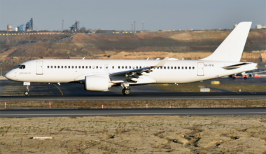 Egyptair, Airbus A220, no More