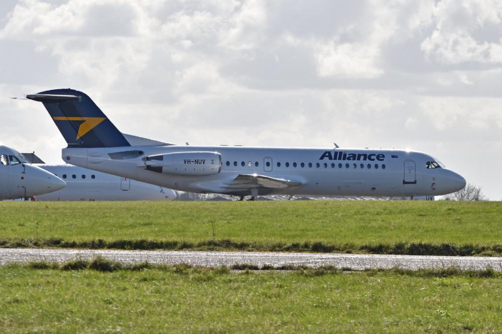 Alliance Airlines Fokker 70