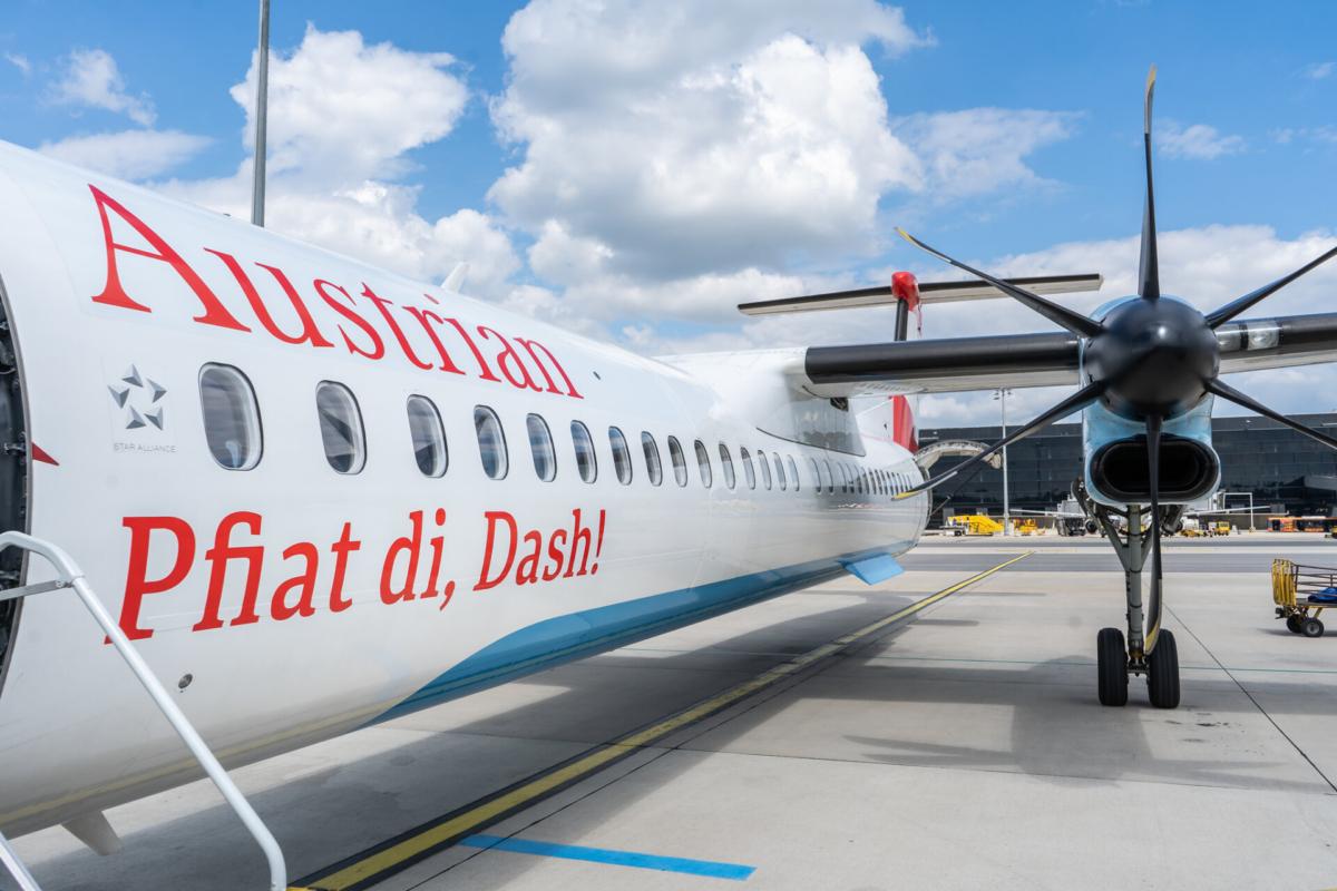 Austrian Airlines Dash-8