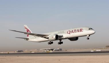 Qatar Airways 787