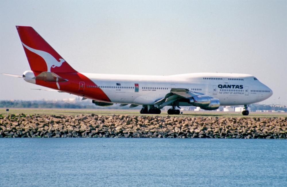 Qantas 747-300