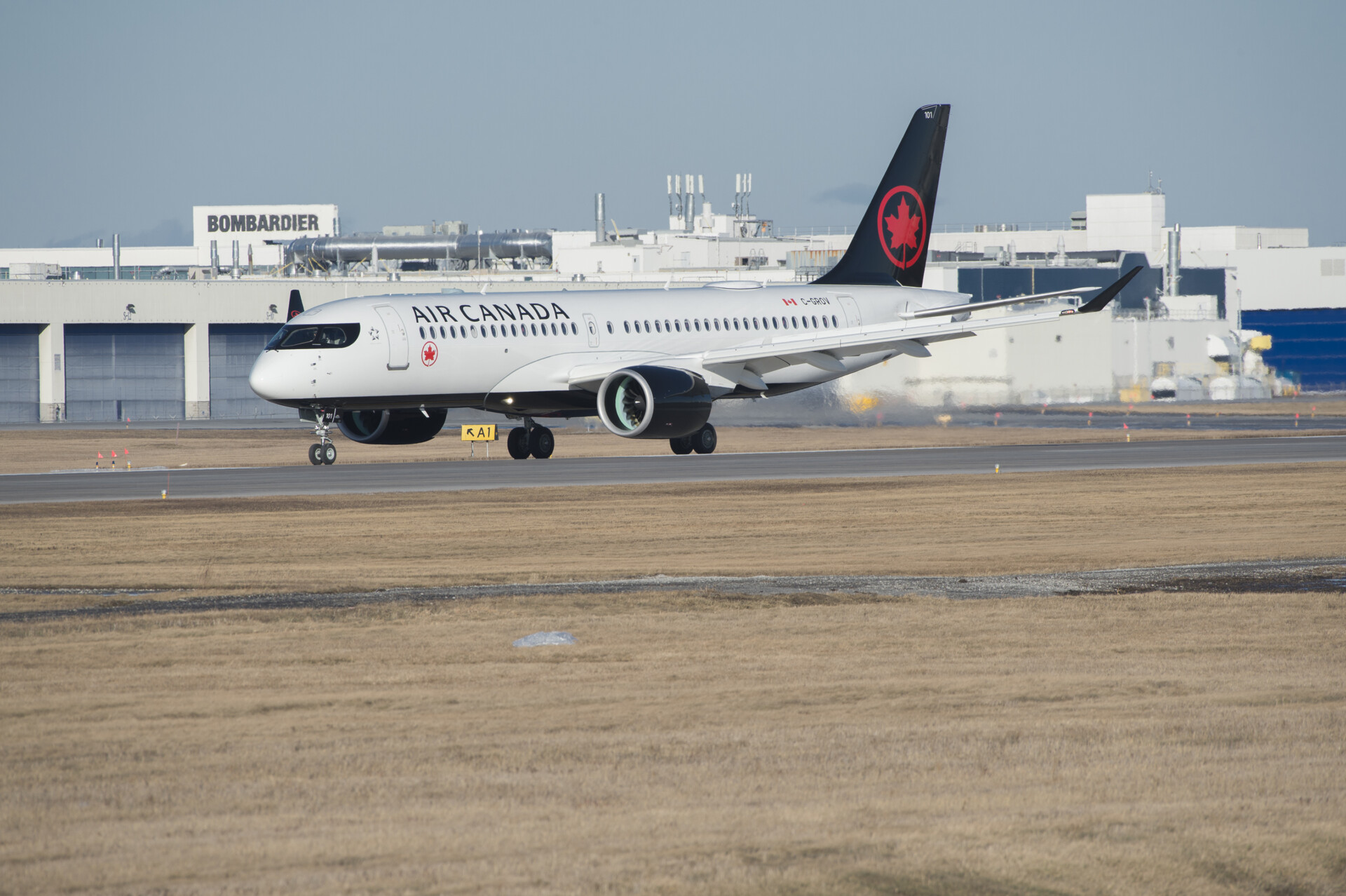 Air Canada Set To Operate Mexico's First Airbus A220 Service