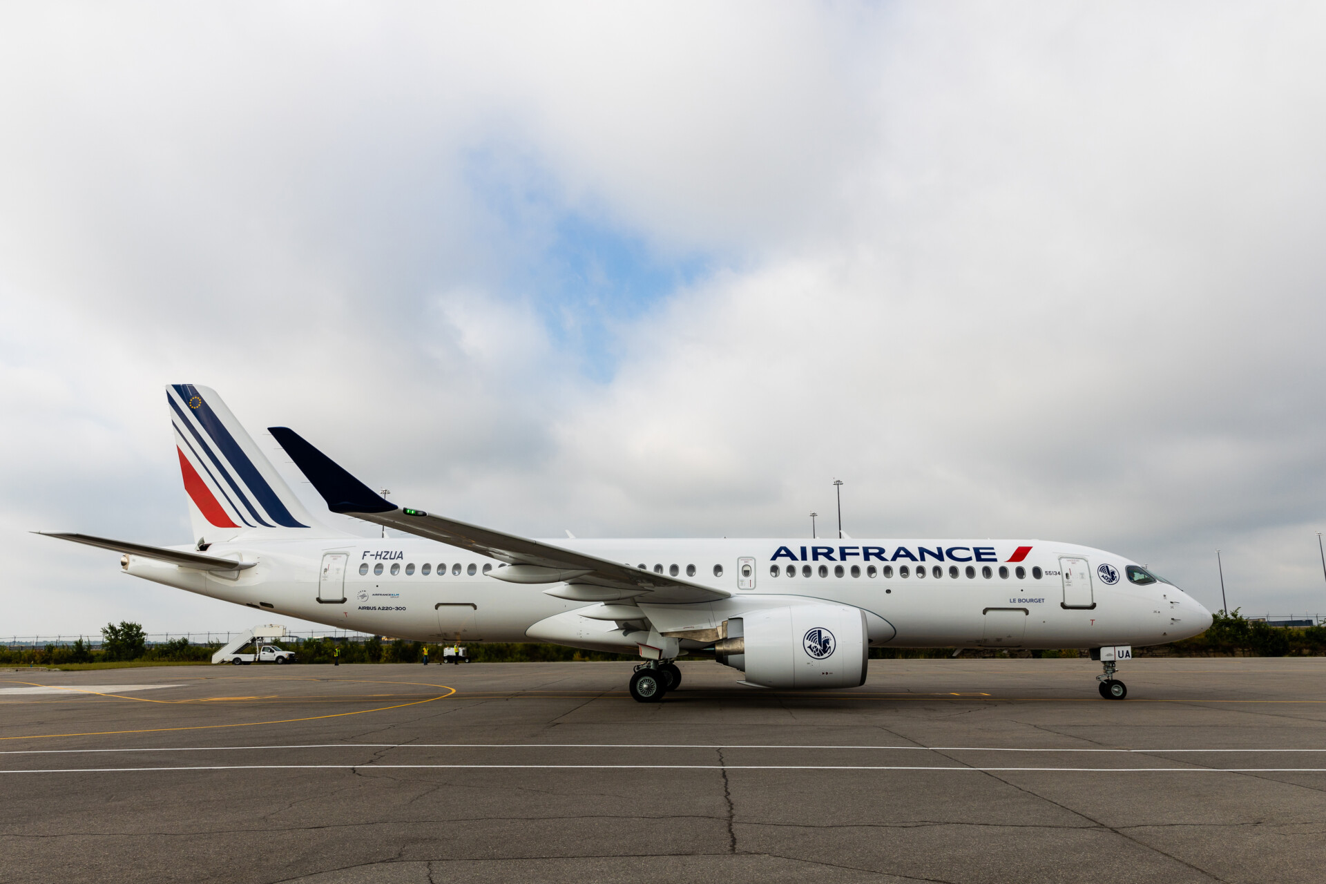 Air France, Airbus A220, Route Network