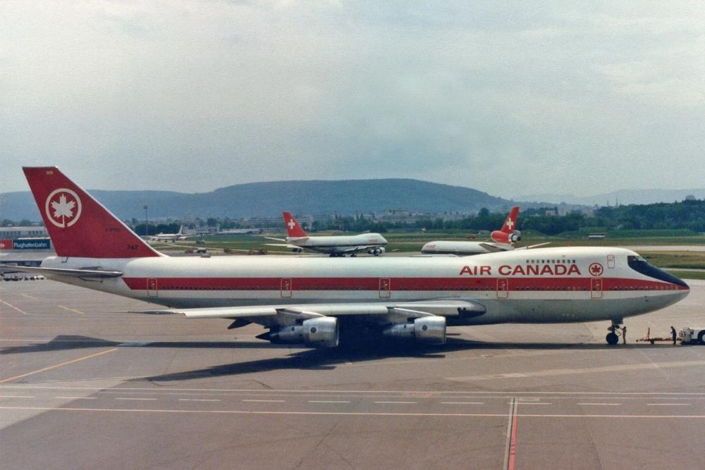 Air Canada Boeing 747-100