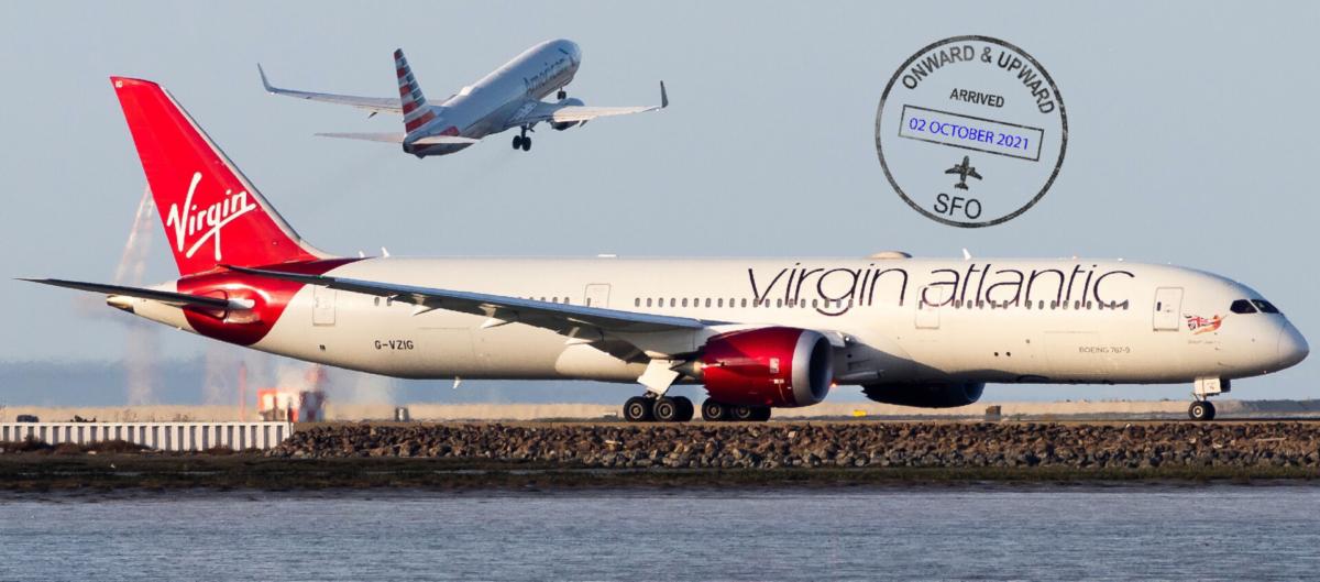 Virgin Atlantic at SFO
