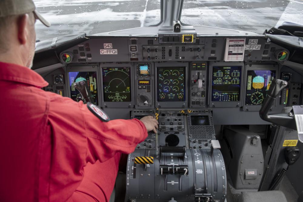 Conair Dash 8-400 Airtanker Cockpit - 1 - Photo Credit Jeff Bough