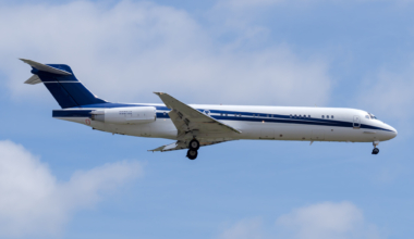 MD-87, Crash, Houston