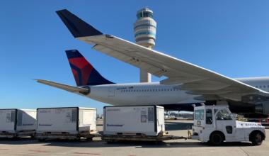 Delta Air Lines vaccine shipments