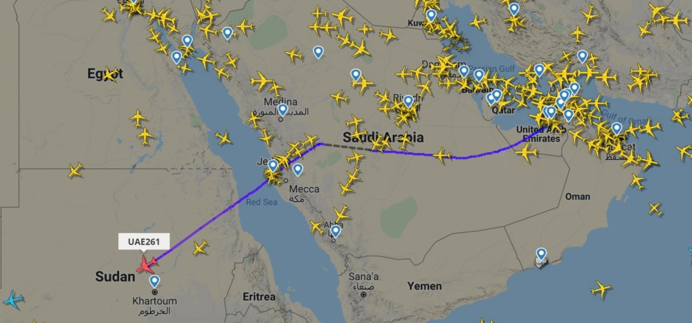 Emirates to Sao Paulo