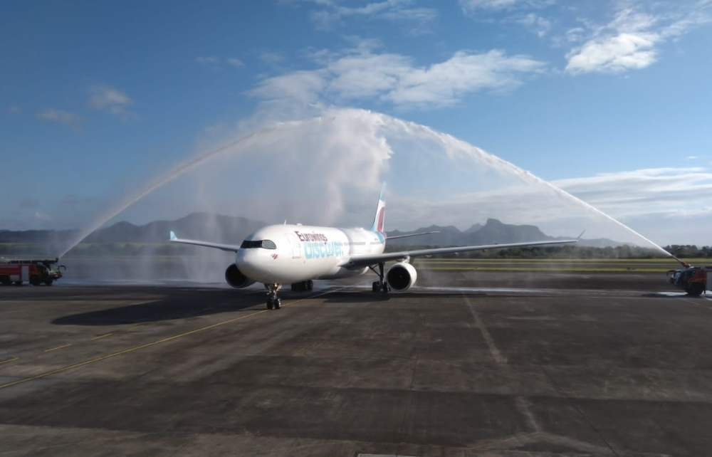 Eurowings Discover in Mauritius
