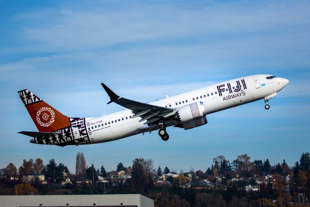 Fiji Airways 737 MAX