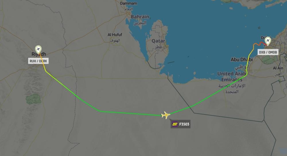 Flyadeal Riyadh to Dubai