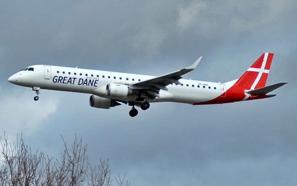 Great Dane E190