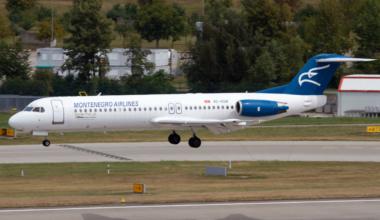 Fokker 100 Getty