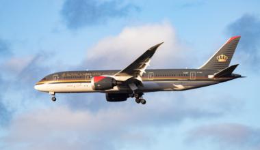 Royal Jordanian 787