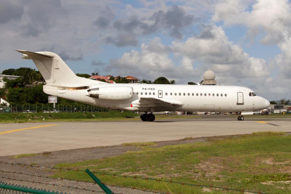 Fokker 70 Getty