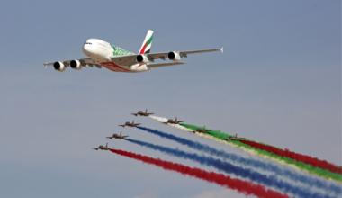 Dubai Airshow, Airbus, Boeing