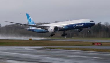 Boeing 777X Getty
