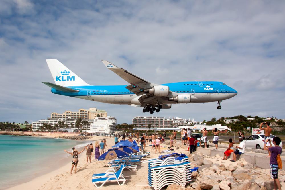 KLM Boeing 747 Getty